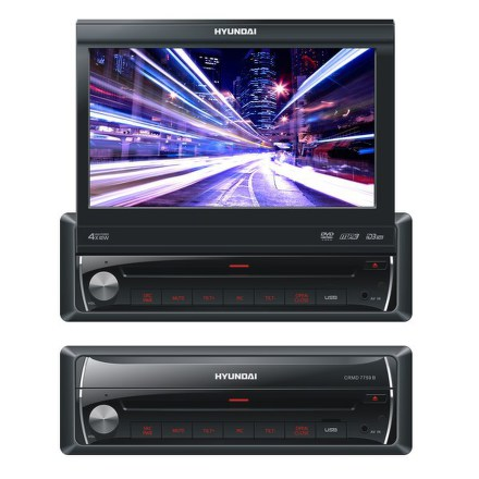 "Autorádio Hyundai CRMD 7759 B, DVD/MP3/USB/BLUETOOTH/7""""LCD"