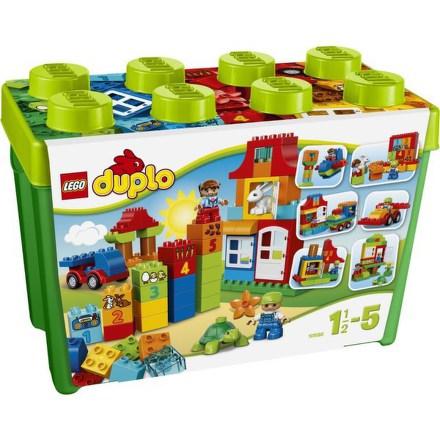 Stavebníce LEGO® DUPLO Kostičky 10580 Zábavný box Deluxe