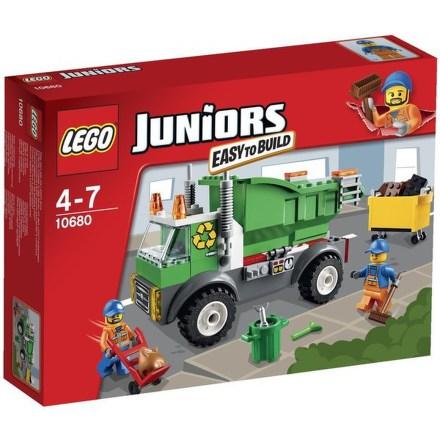 Stavebnice Lego® Juniors 10680 Popelářské auto