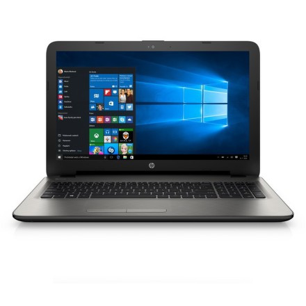 "Ntb HP 15-ac111nc i5-6200U, 4GB, 1TB, 15.6"""", HD, DVD±R/RW, AMD R5 M330, 2GB, BT, CAM, W10 - stříbrný"