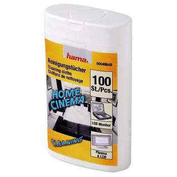 Čistící utěrky Hama 49648 LCD/PLASMA BOX 100ks