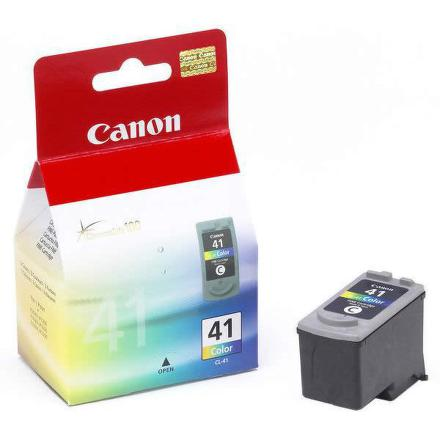 Inkoustová náplň Canon CL-41C, 312 stran originální - červená/modrá/žlutá