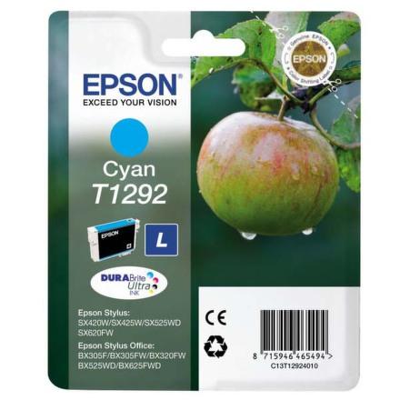 Inkoustová náplň Epson T1292, 485 stran originální - modrá
