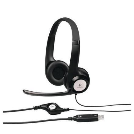 Headset Logitech H390 USB - černý