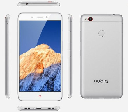 Nubia N1 DS 3+64GB White/Silver