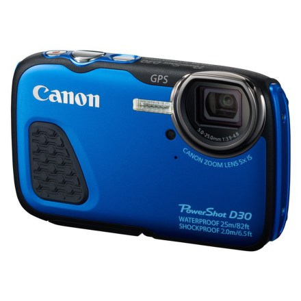 Canon PowerShot D30 HS podvodní, modrý