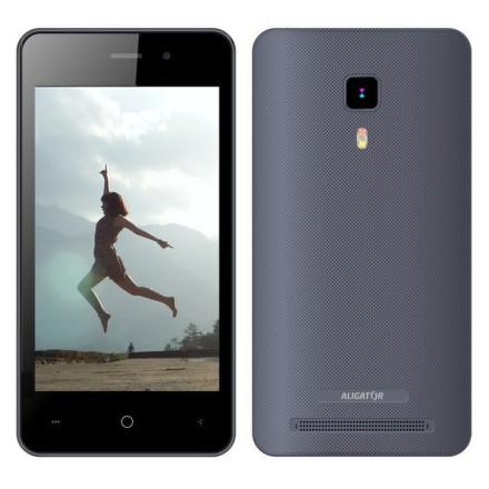 Mobilní telefon Aligator S4080 Dual SIM - šedý