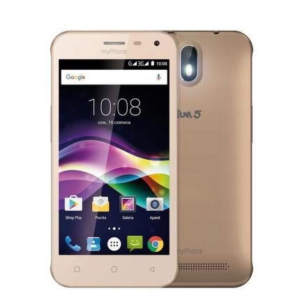 Mobilní telefon myPhone FUN 5 - zlatý
