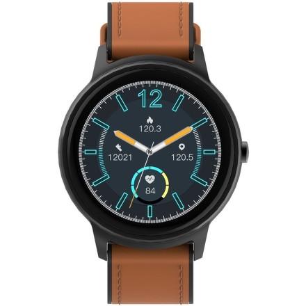 Chytré hodinky iGET FIT F60 (2x řemínek) - černé