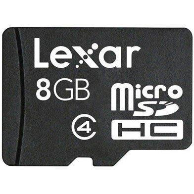 LEXAR MicroSDHC 8GB Class 4