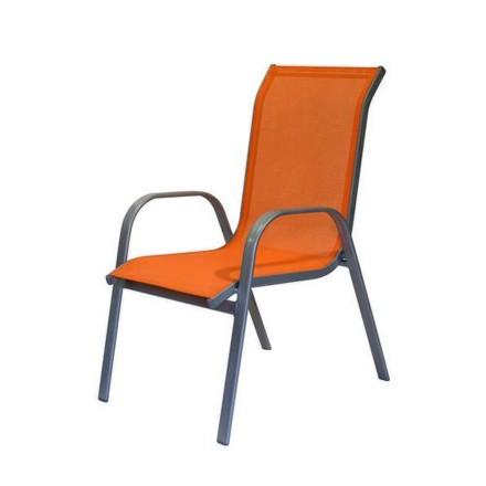 Židle zahradní Happy Green 50XG5005O oranžová