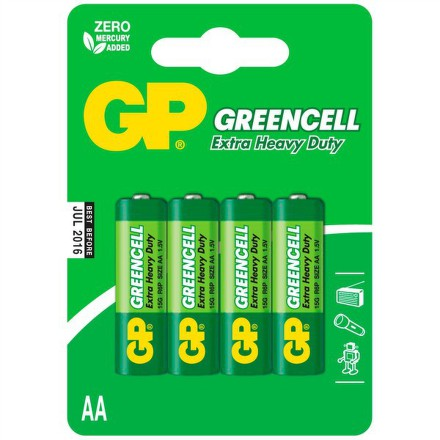 GP R6 GREEN (4ks - blistr)