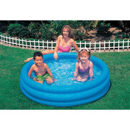 Bazén Intex 3-Ring Crystal Blue prům. 1,47x0,33 m - dětský