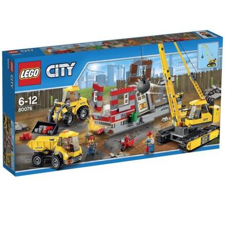 Stavebnice Lego® City Demolition 60076 Demoliční práce na staveništi