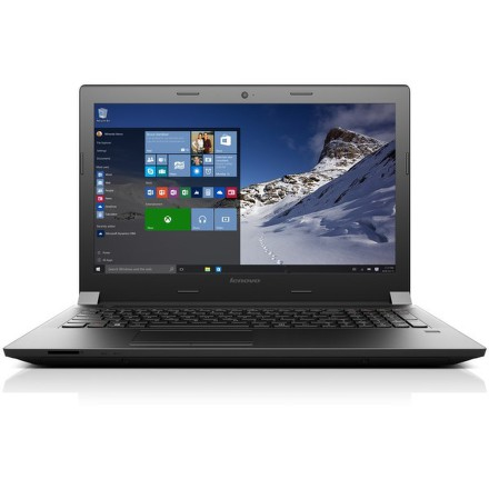 """Ntb Lenovo B51-80 i5-6200U, 4GB, 1TB, 15.6"""""""", HD, DVD±R/RW, Intel HD 520, BT, FPR, CAM, W10 - černý"""
