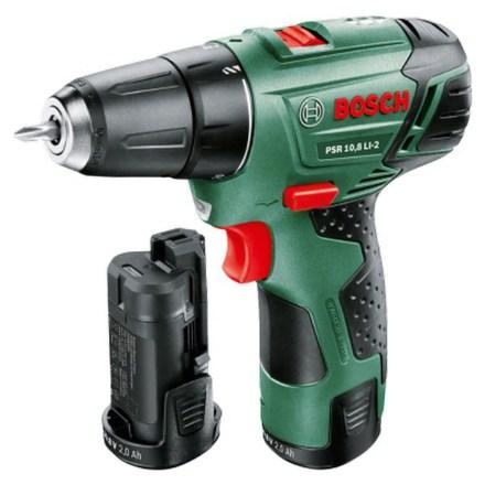 Aku vrtačka Bosch PSR 10,8 LI-2 (2 aku, upgrade)