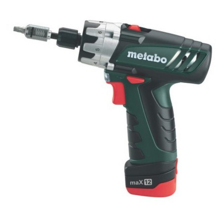 Aku šroubovák Metabo PowerMaxx BS Basic, 2 aku