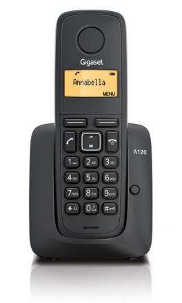 Domácí telefon Siemens Gigaset A120 - černý