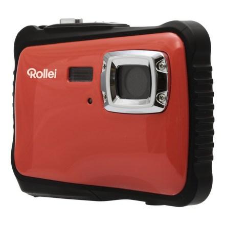 Fotoaparát kompaktní Rollei Sportsline 65, červeno/černý + Brašna zdarma