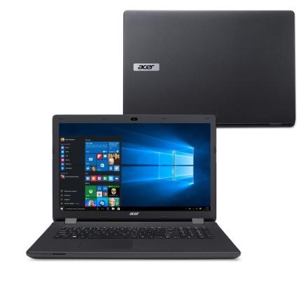 """Ntb Acer Aspire ES17 (ES1-731G-P5CJ) Pentium N3710, 4GB, 1TB, 17.3"""""""", HD+, DVD±R/RW, nVidia 910M, 2GB, BT, CAM, W10 - černý"""
