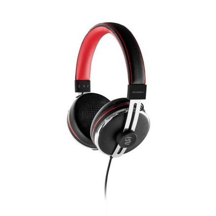 Sluchátka GoGEN HC 01R - černé/červené