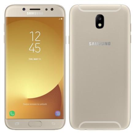 Mobilní telefon Samsung Galaxy J7 (2017) - zlatý