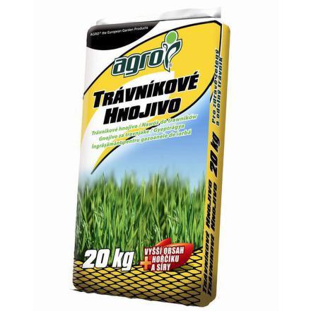 Hnojivo Agro Trávníkové pytel 20 kg