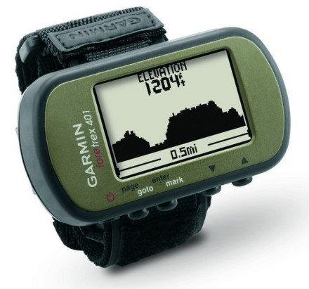 Navigace Garmin Foretrex 401 outdoor, zelená