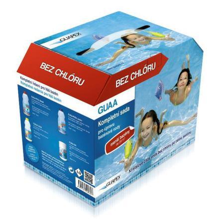 Bazénová chemie Guapex - Sada pro malé bazény