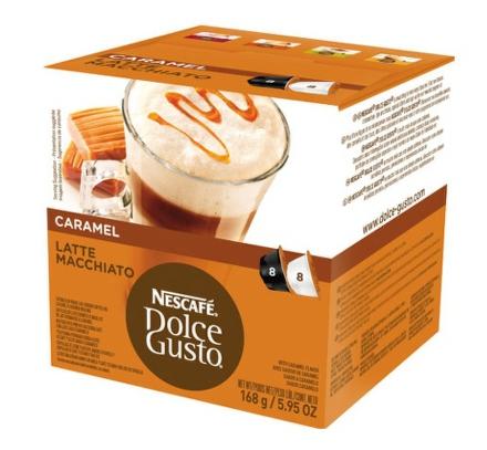 KRUPS Kapsle Nescafé - Latté Macchiato Caramel