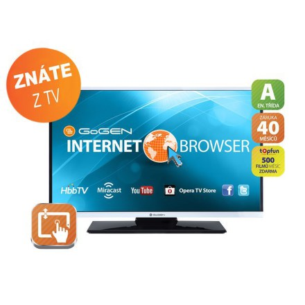 Televize GoGEN TVH 24384 WEB