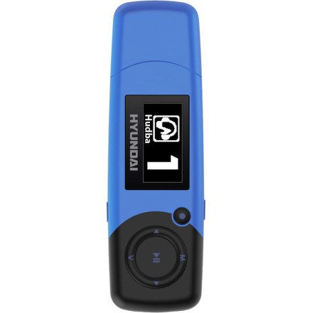 MP3 přehrávač Hyundai MP 366 FM, 4GB, modrý