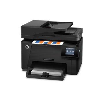 Tiskárna multifunkční HP Color LaserJet Professional M177fw A4, 16str./min, 4str./min, 600 x 600, 128 MB, WF, USB - černá