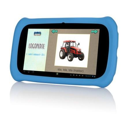 """Dotykový tablet GoGEN Maxipes Fík MAXPAD7 G4B, 7"""""""", 8 GB, WF, Android 4.4.4 - modrá"""