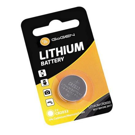 Baterie lithiová GoGEN CR2032, blistr 1ks