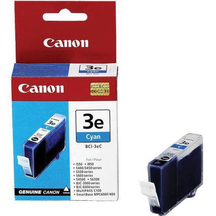 Inkoustová náplň Canon BCI-3eC, 280 stran originální - modrá