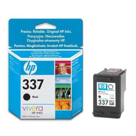 Inkoustová náplň HP No. 337, 11ml, 400 stran originální - černá