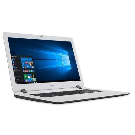 """Ntb Acer Aspire ES17 (ES1-732-C9WF) Celeron N3450, 4GB, 1TB, 17.3"""""""", HD+, DVD±R/RW, HD, BT, CAM, W10 - černý/bílý"""