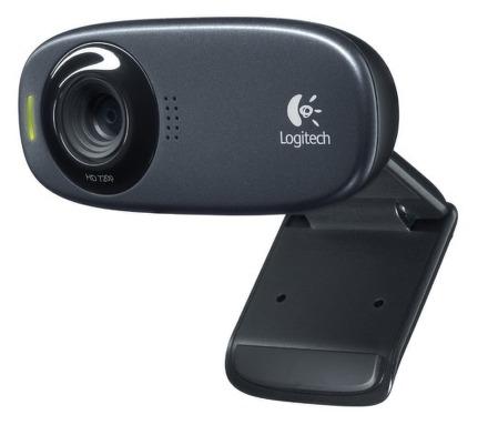 Webkamera Logitech HD Webcam C310 - černá