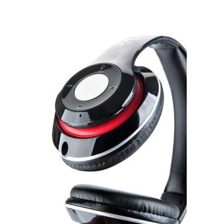 Sluchátka GoGEN HBTM 41BR - černé/červené