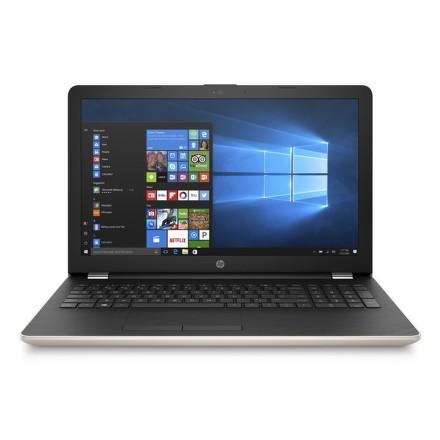 """Ntb HP 15-bw049nc A6-9220, 4GB, 1TB, 15.6"""""""", HD, DVD±R/RW, AMD R4, BT, CAM, W10 - zlatý"""