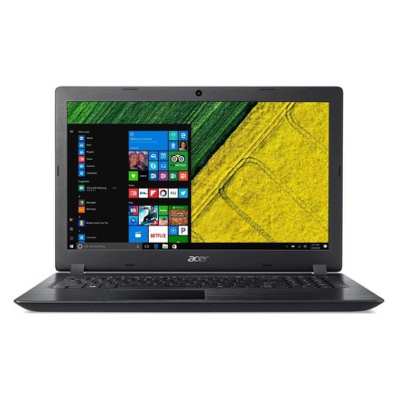 "Ntb Acer Aspire 3 (A315-51-385R) i3-6006U, 4GB, 128GB, 15.6"""", Full HD, bez mechaniky, Intel HD, BT, CAM, W10 - černý"