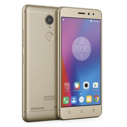 Mobilní telefon Lenovo K6 Dual SIM - zlatý