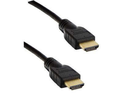 Kabel HDMI 1m 1.4 High Speed Ethernet Black