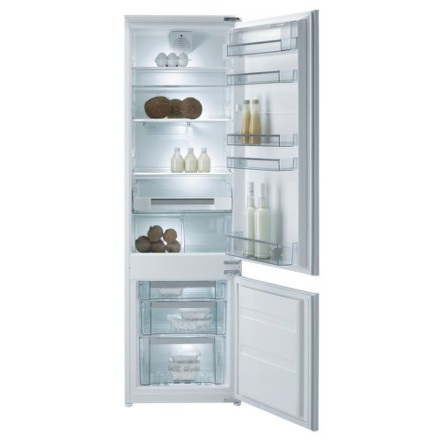 Chladnička komb. Gorenje RKI 4181 KW, vestavná