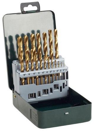 Sada vrtáků Bosch 19 dílná titan do kovu HSS-R
