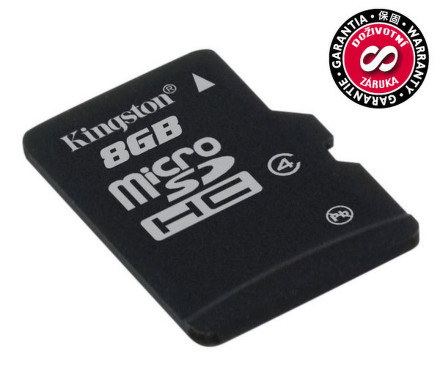 Kingston MicroSDHC 8GB Class4