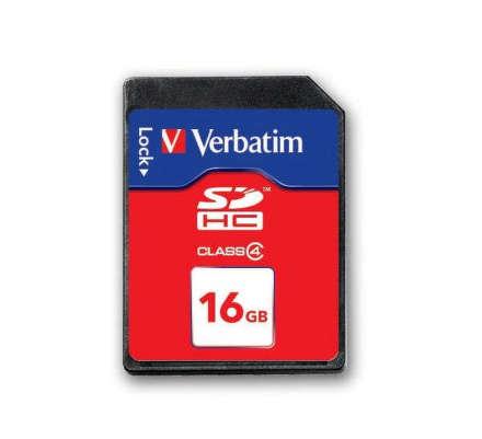 Verbatim SDHC 16GB Class4