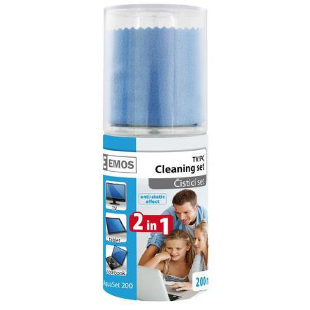 KC0301 čistící set roztok + utěrka