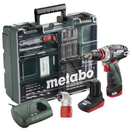 Aku vrtačka Metabo PowerMaxx BS Quick Pro MD 1x2Ah